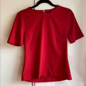 Marks and Spencer Red Blouse
